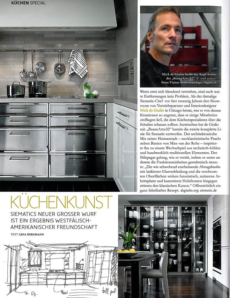 Architectural Digest, Kuchenkunst - Page 2