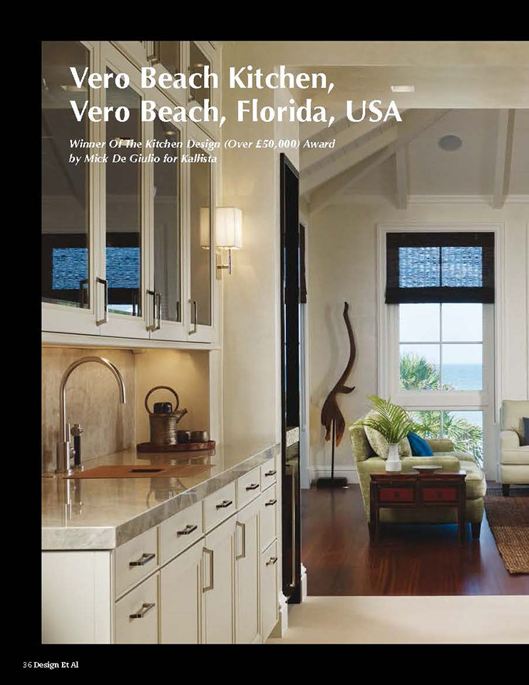 Design Et Al, Vero Beach Kitchen - Page 1