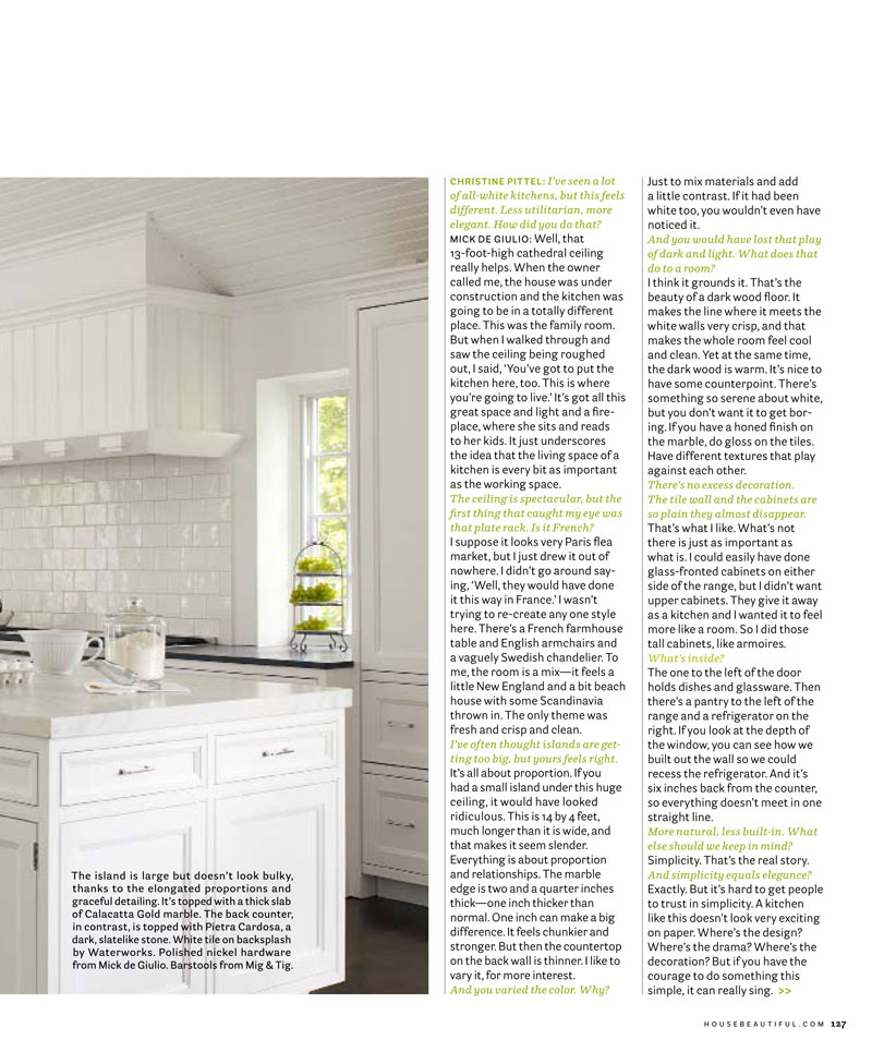 House Beautiful, Kitchen of the Month - Page 2