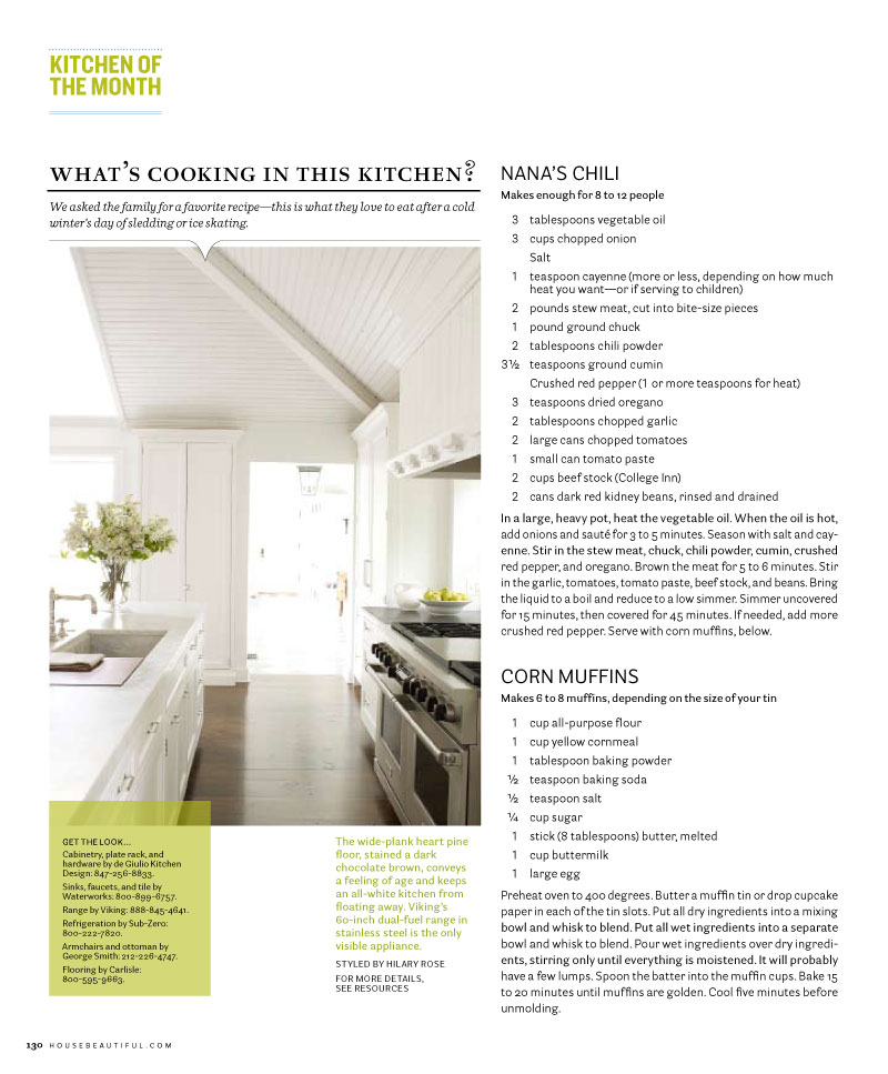 House Beautiful, Kitchen of the Month - Page 5