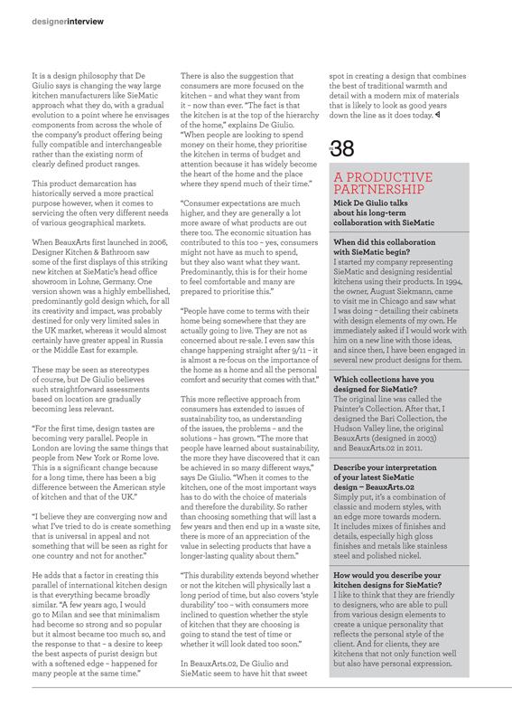 Kitchen & Bathroom Designer (UK), A Universal Picture - Page 3