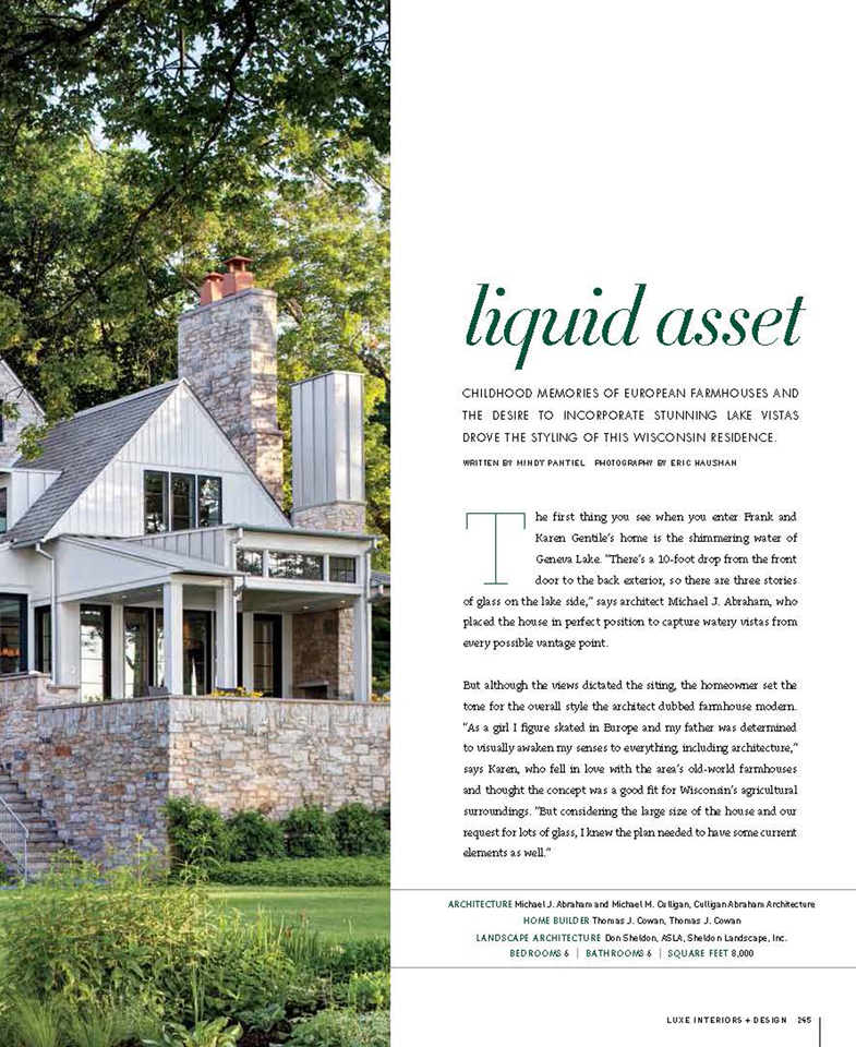 Luxe Magazine, Liquid Asset - Page 2