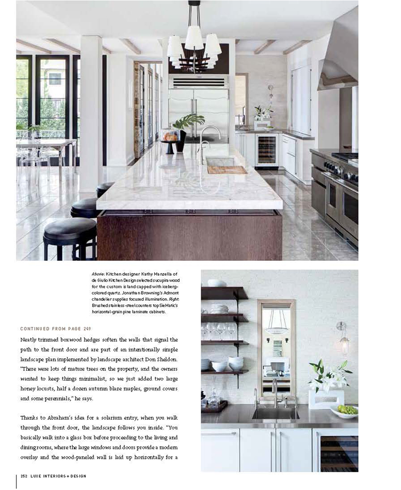 Luxe Magazine, Liquid Asset - Page 9