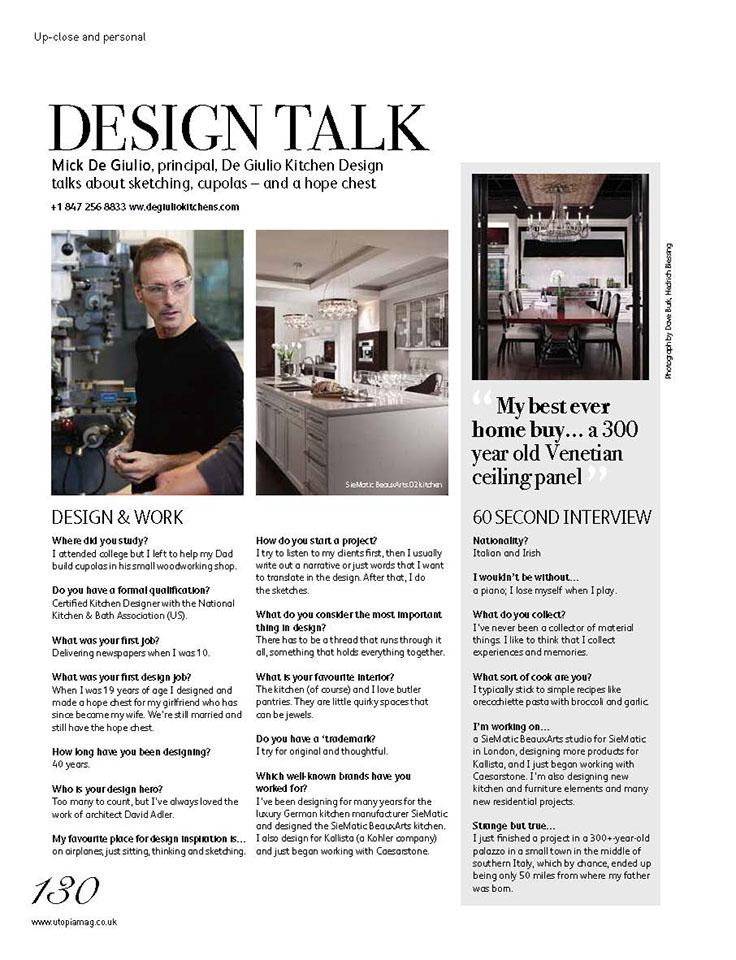 Utopia Kitchen & Bathroom, Design Talk - Page 1