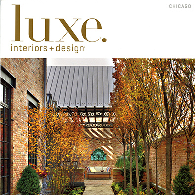 Luxe Magazine, 1920s English Cotswold Style HOne <